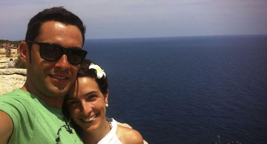 Disfrutando de las vacaciones en Formentera