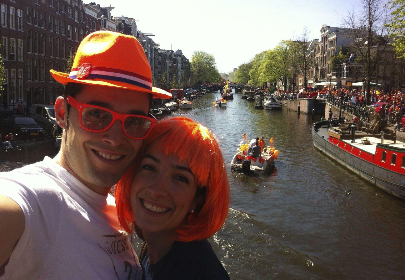 El Día de La Reina en Amsterdam