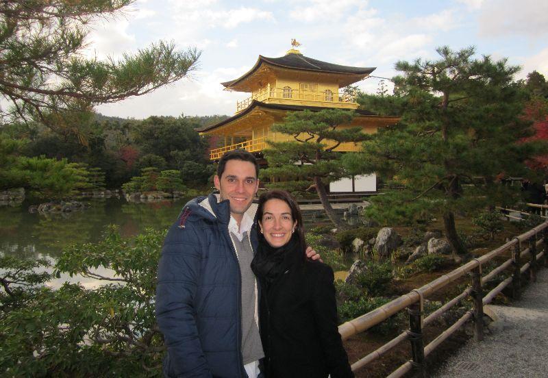 Kinkuki-ji. Templo Dorado en Kioto